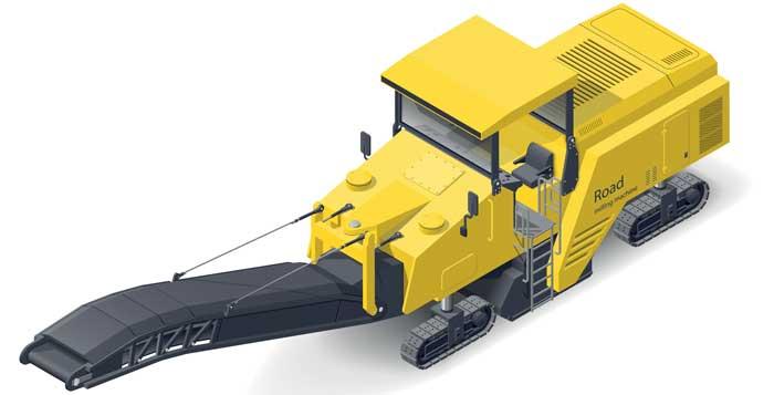 road-milling-machine