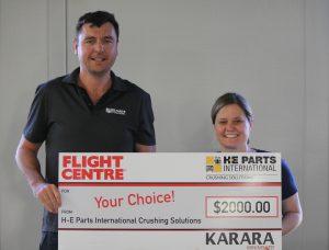 H-E Parts supporting Karara