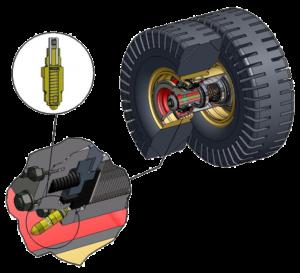 H-E Parts brake wear gauge